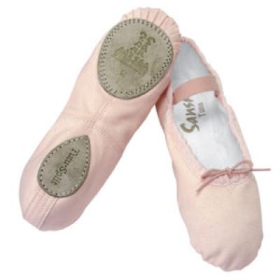 Otroški platneni baletni copati 5C Tutu-split