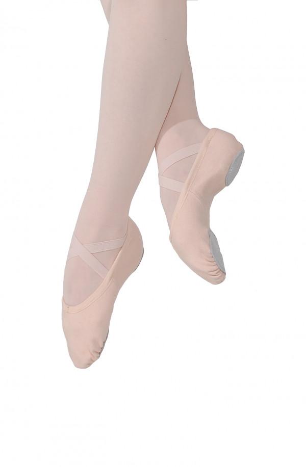 Elasični baletni copati.